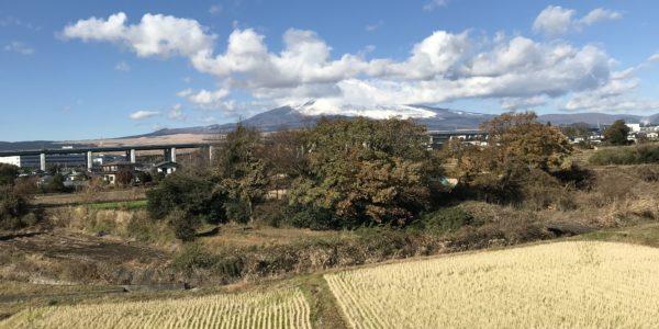 富士見台から見る富士山1