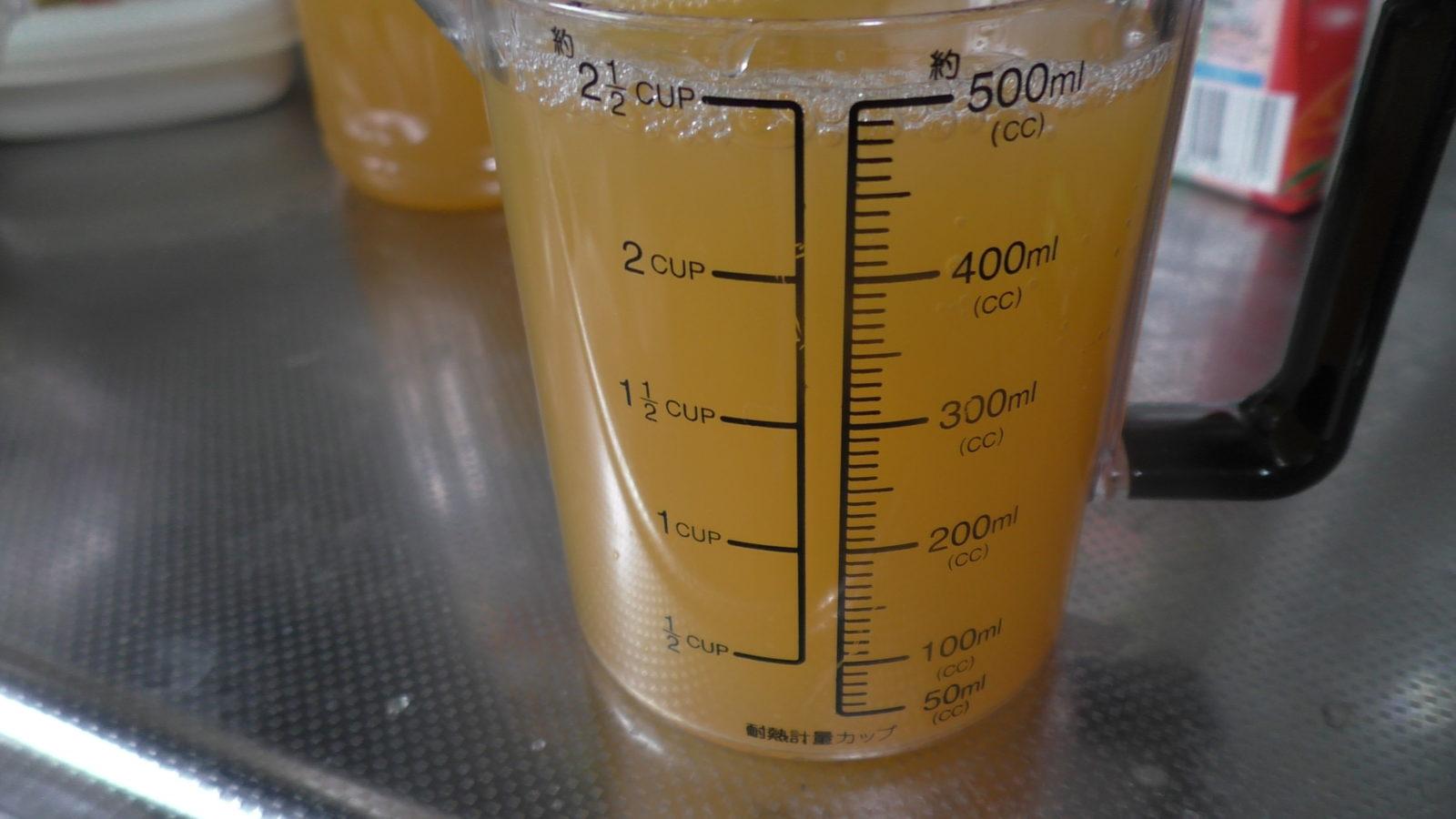 クーちゃんのオレンジジュース500ml