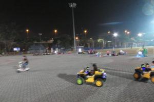 ジョホールの公園(Dataran Johor Bahru)の活気