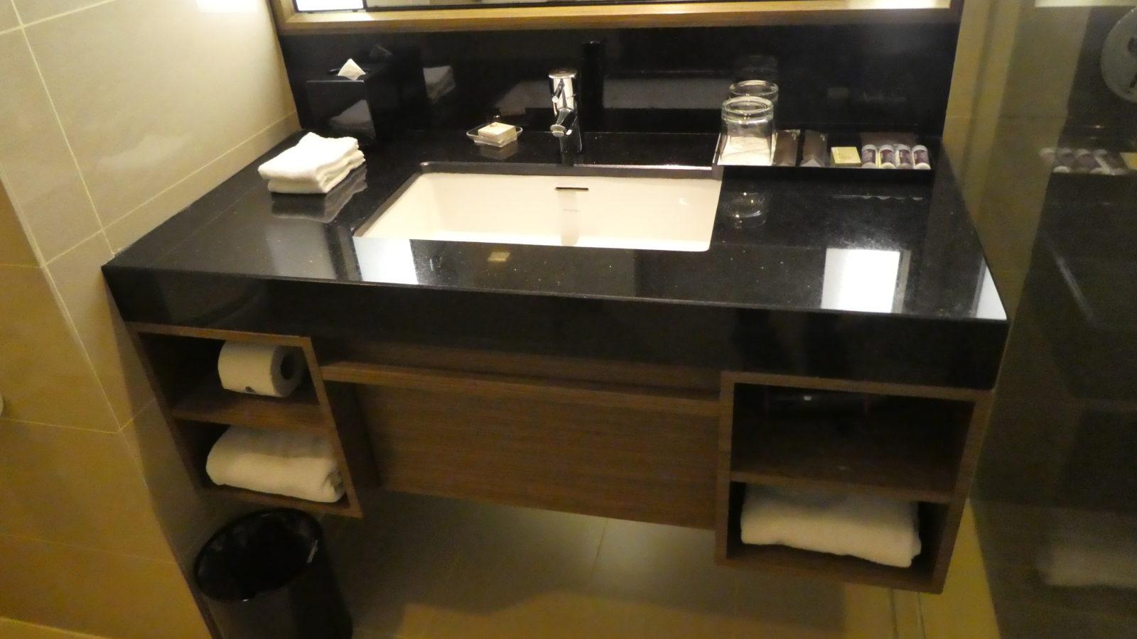 ルネッサンスジョホールバル-洗面台