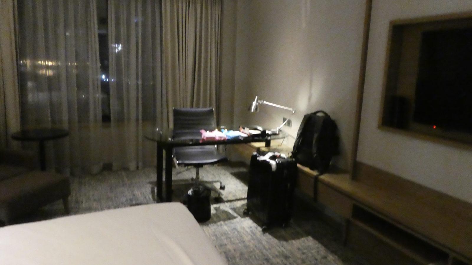 ルネッサンスジョホールバルホテルのお部屋の中