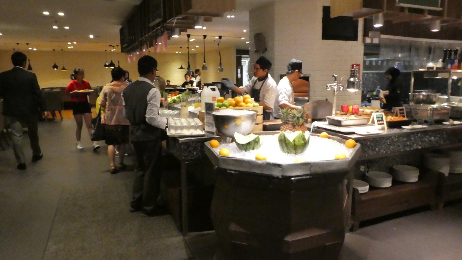 ルネッサンスホテル-朝食