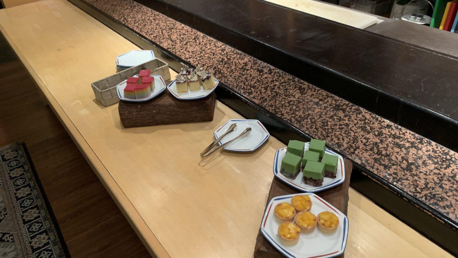 イスタナホテル-癒やしラウンジケーキ