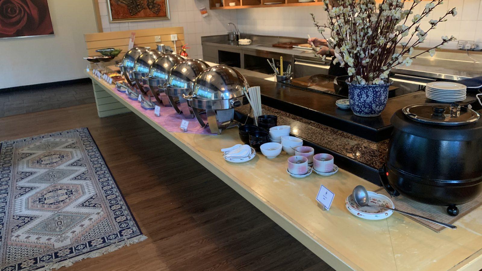 イスタナホテルクアラルンプール-和食の朝食